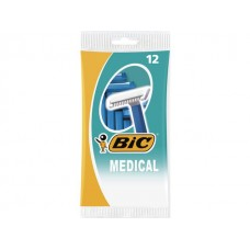 BiC Rakhyvel  Medical 1-blad (fp om 12 st)
