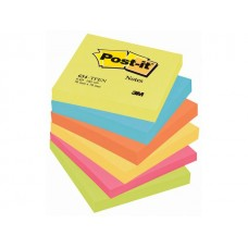 Post-it® Notes Energetic 76x76mm (fp om 6 block)