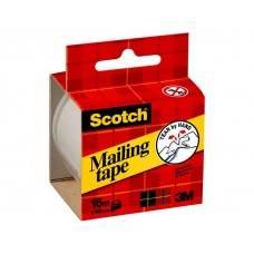 Scotch® Packtejp 16mx50mm transparent (rulle om 16 m)
