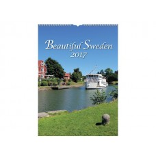 Burde Väggkalender Beautiful Sweden - 1725