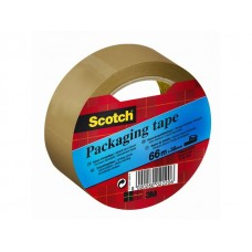 Scotch® Packtejp 38mmx66m 48my brun (rulle om 66 m)