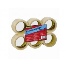 Scotch® Packtejp 371 PP 66mx38mm klar (rulle om 48 st)