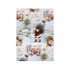 Hedlunds OF SWEDEN Julpapper 57cmx154m White Christmas (rulle om 154 m)