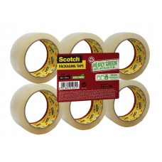 Scotch® Packtejp 5066 66mx50mm transp. (rulle om 66 m)