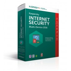Kaspersky Internet Security MultiDevice 2016, 1år Retail box